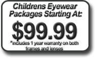 childrens eyewear package